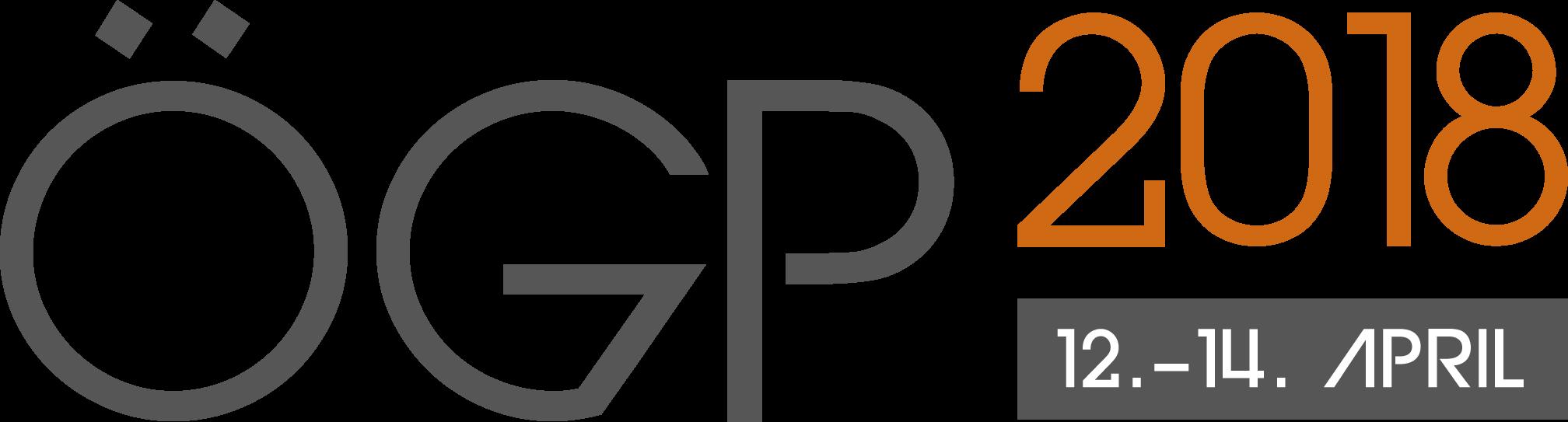 ÖGP 2018 Tagungslogo