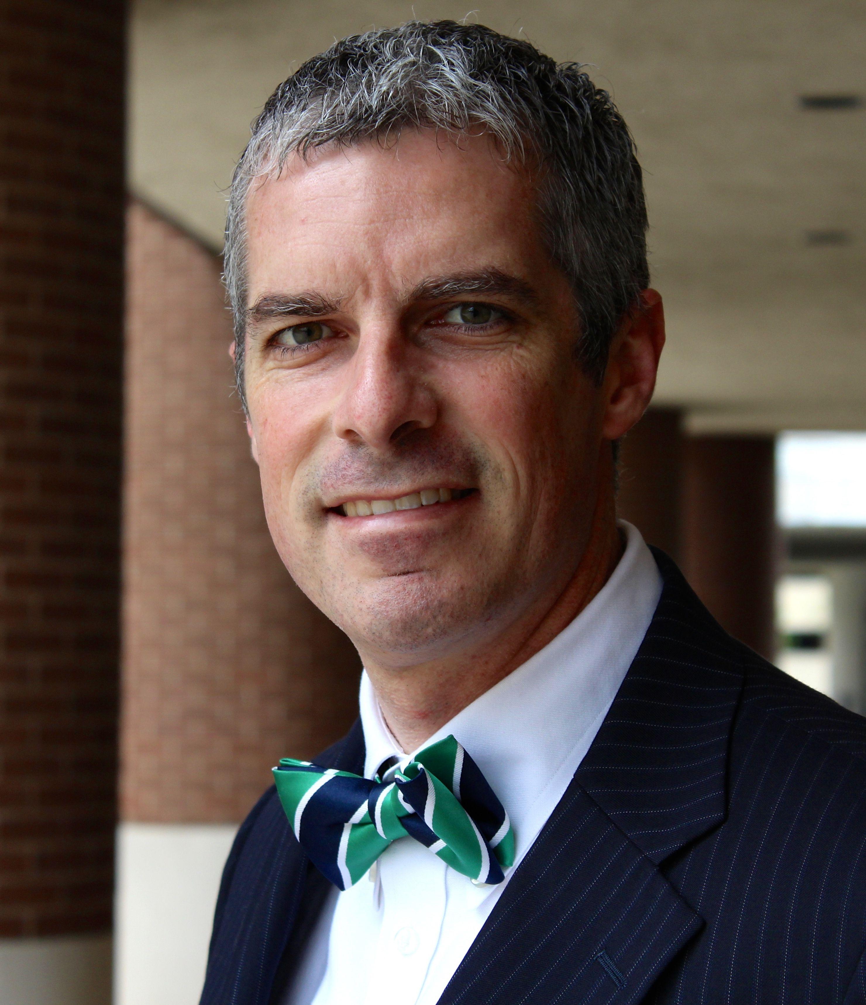 Wir begrüßen Fulbright Professor Brian Smith, PhD