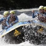 AOM Team beim Wildwasser Rafting