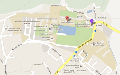 JKU Campus on Google Maps